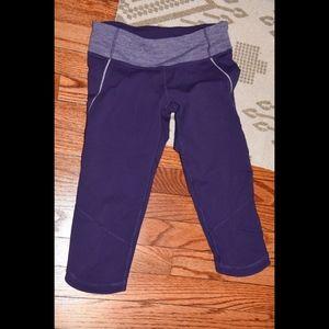 LULULEMON Run Excel Crop Knee Length Pants